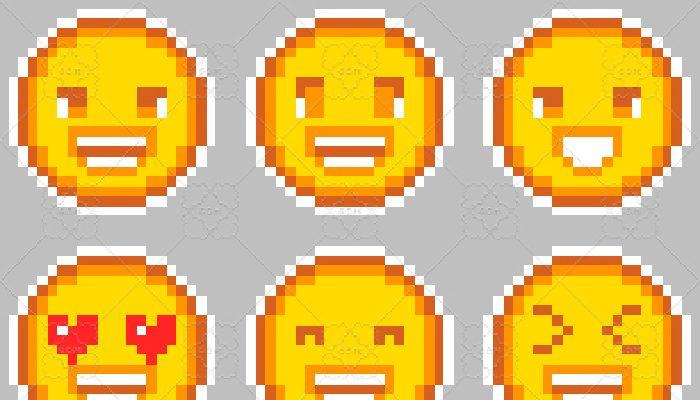 Pixel Emojis 1