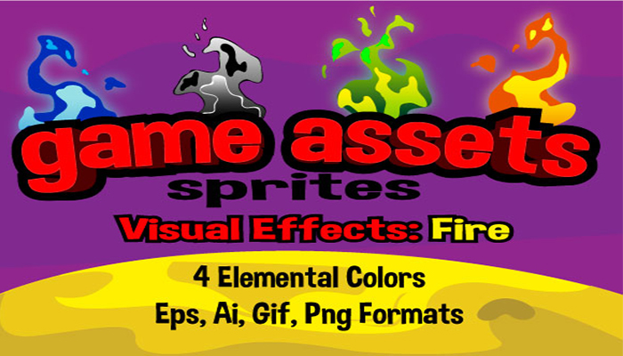 Fire effects sprites