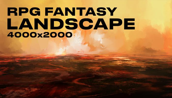 RPG fantasy landscape