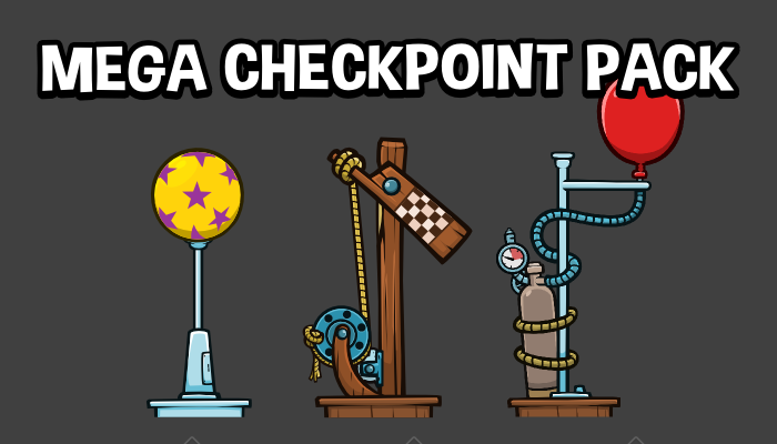 Game checkpoint marker collection