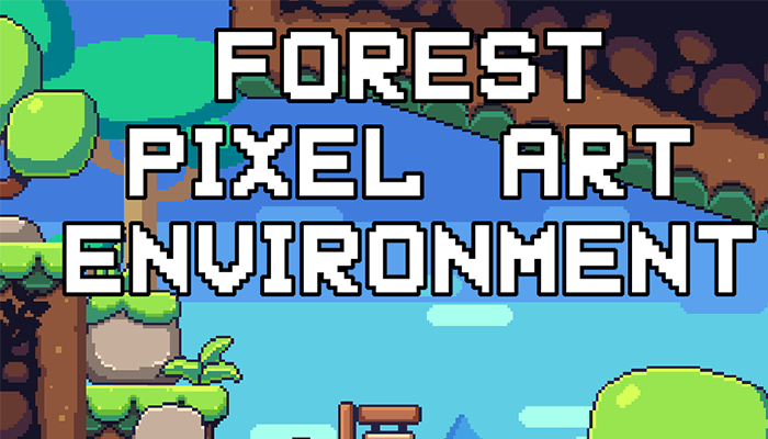 Forest Pixelart Environment Asset