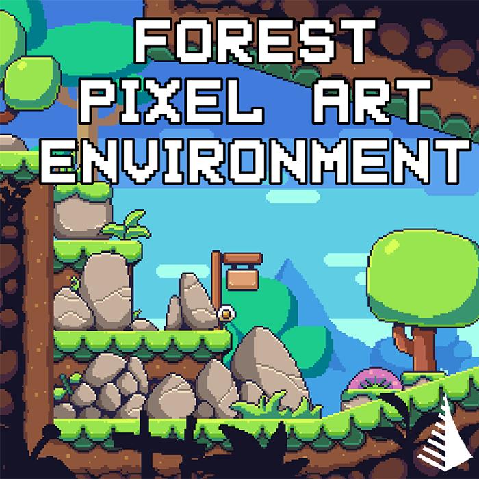 Forest Pixelart Environment Asset