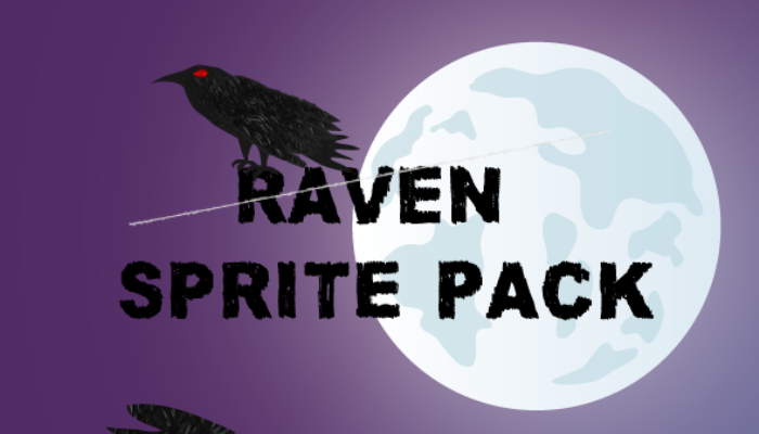 Raven Sprite Pack