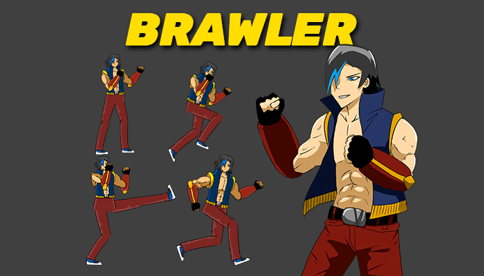 Brawler Character Sprite