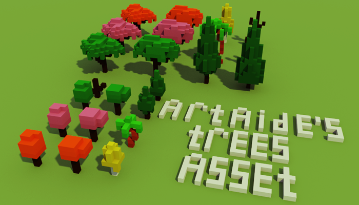 Artaide's trees asset
