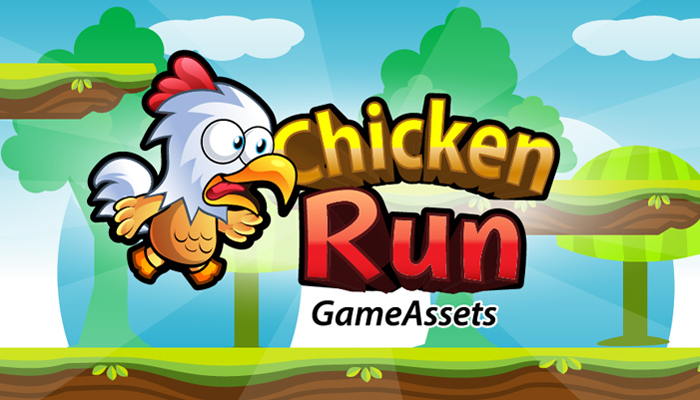 Chicken Run Plat former Game Assets