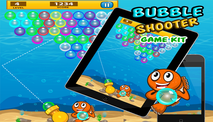 Game Kit bubble shooter