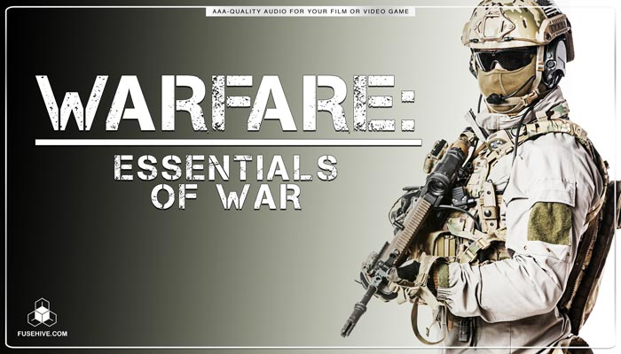 Sniper Rifle Scopes Knives Marching War Ambiences Sound Effects Library – Essentials of Combat Warfare MINI PACK