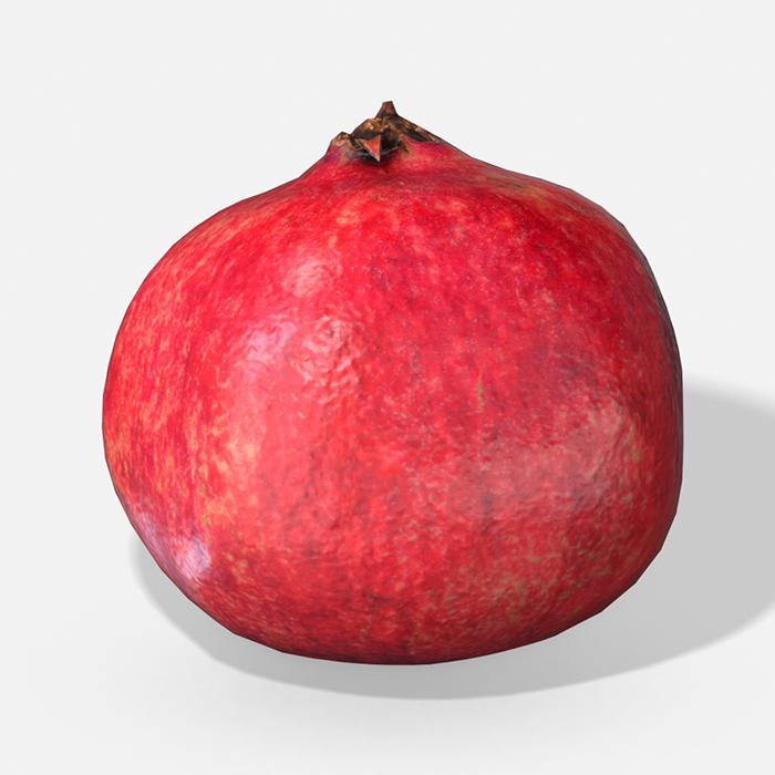Fruit Pomegranate – Photoscanned PBR