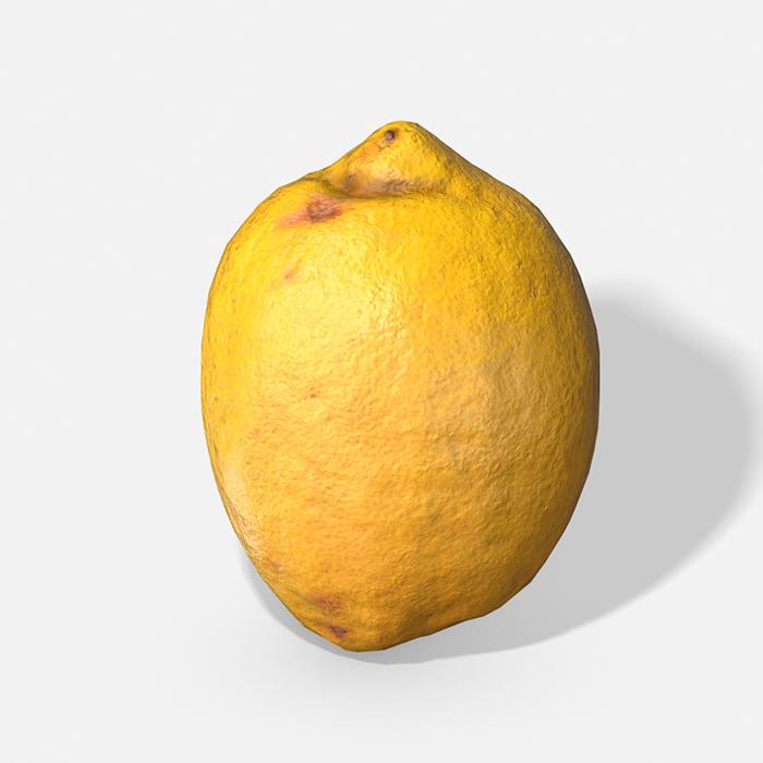 Fruit Lemon – Photoscanned PBR
