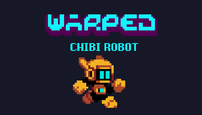 Warped Chibi Robot
