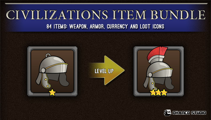 Ancient Civilizations – Items bundle