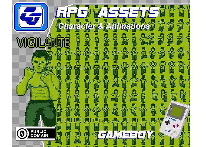 RPG Asset Character 'Vigilante' GB