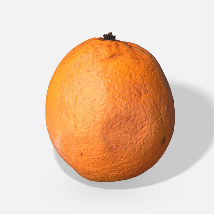Fruit Orange – Photoscanned PBR