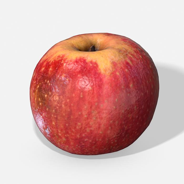 Fruit Apple – Photoscanned PBR