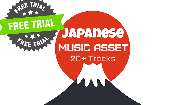 (FREE TRIAL) Japanese-Style Gane Music
