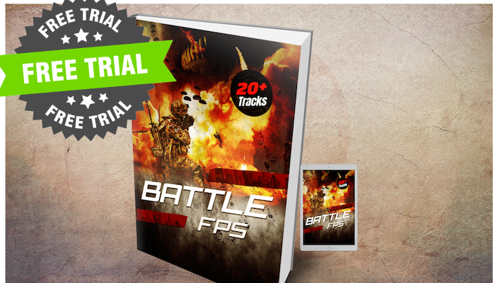 (FREE TRIAL) Epic FPS Battle Music