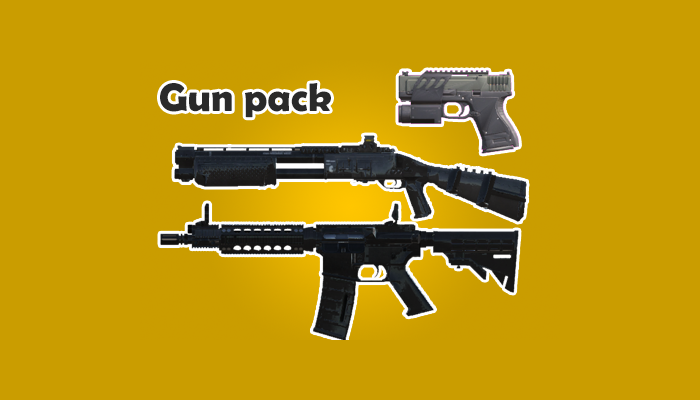 First Person Shooter Weapon Pack