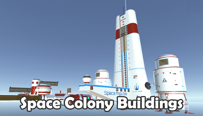 Space Colony Building Game Buildings