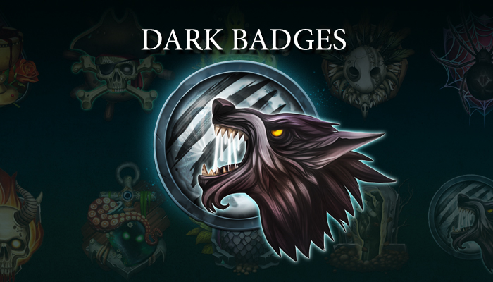 Dark Badges