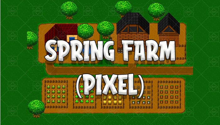 Spring Farm Pixel Pack