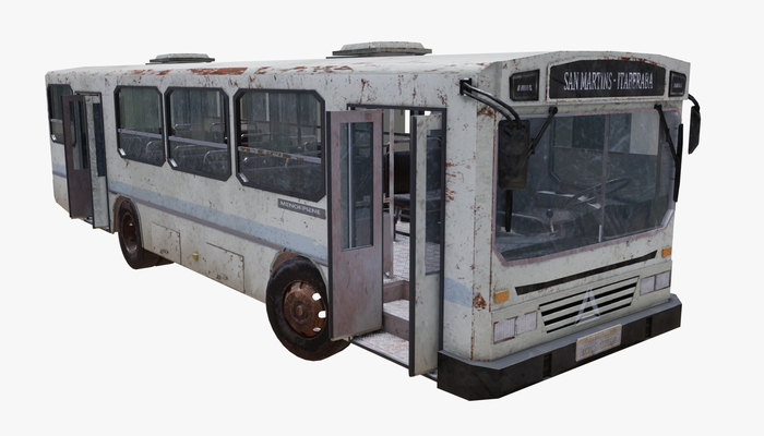 Old Bus PBR