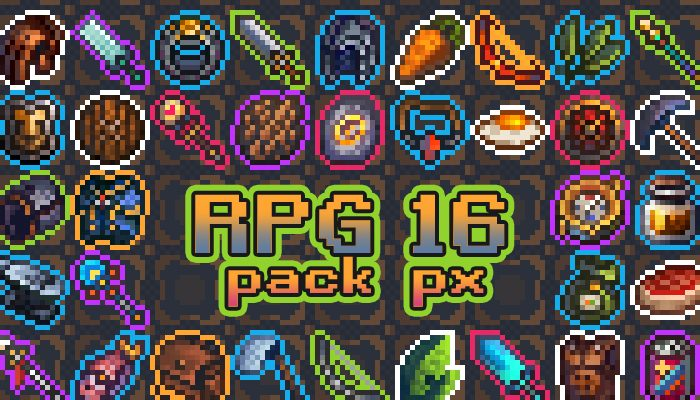 16×16 RPG asset pack