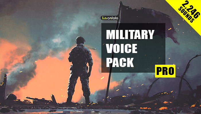 Military Voice Pack PRO