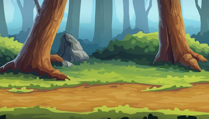 Forest Parallax Background
