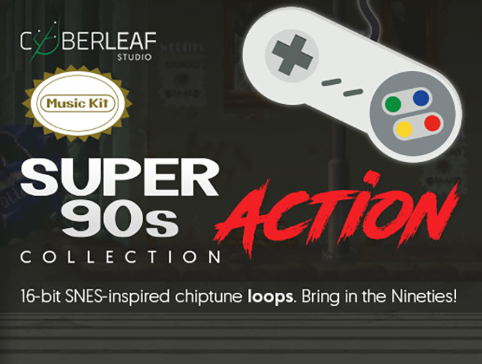 Super 90s : action – music kit