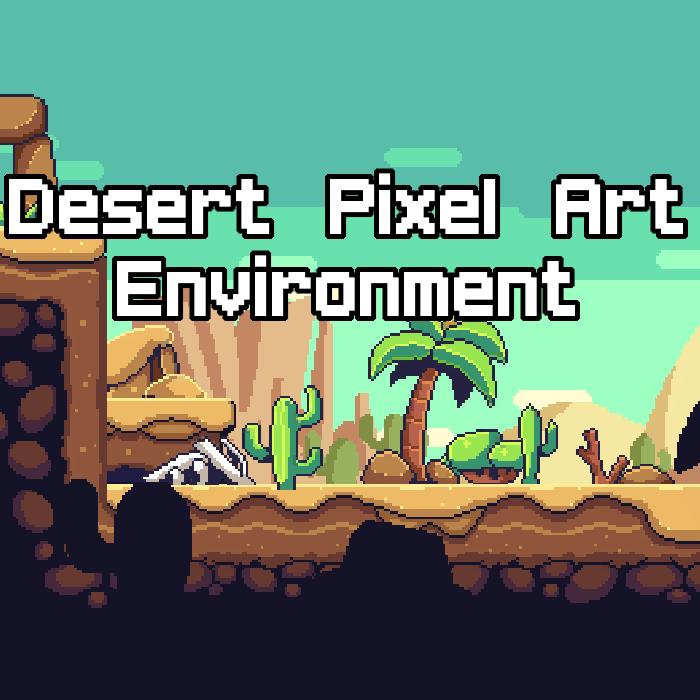 Desert PixelArt Environment Asset