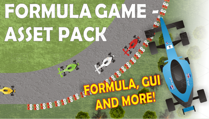 Formula Game – asset pack