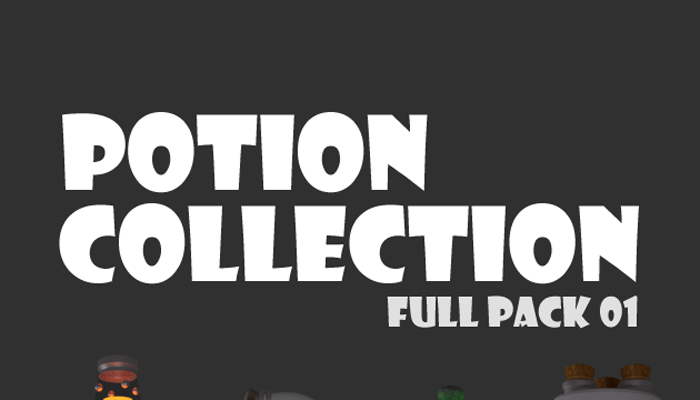 Potion Collection – Full Pack 01