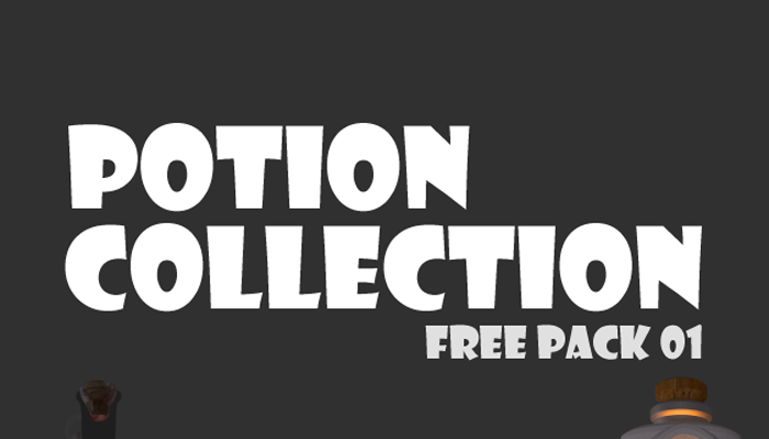 Potion Collection – Free Pack 01