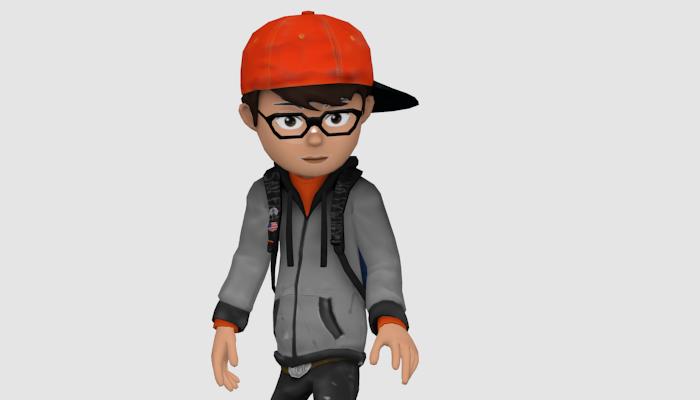 AJ 2d school boy premium