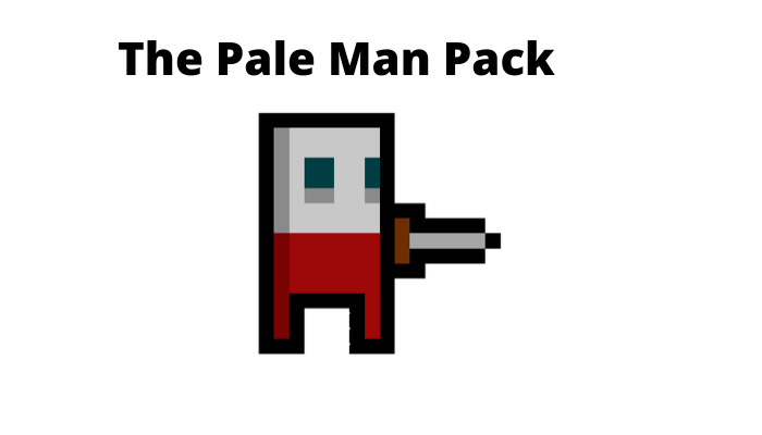 Simple Dungeon Man (Walking/Attack Animation)