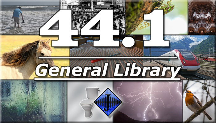 44.1 General SFX Library (Free Sample)