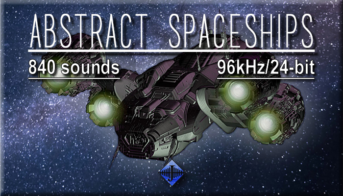 Abstract Spaceships (Free Sample)