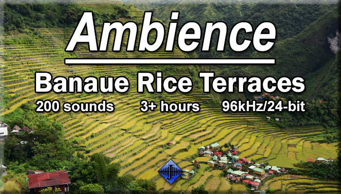 Ambience – Banaue Rice Terraces (Free Sample)