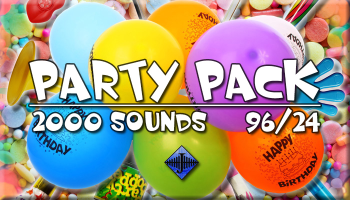 Party Pack (Free Sample)