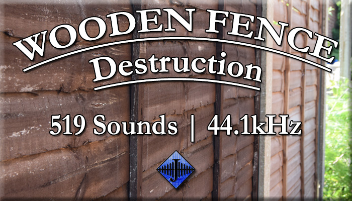Wooden Fence Destruction (Free Sample)