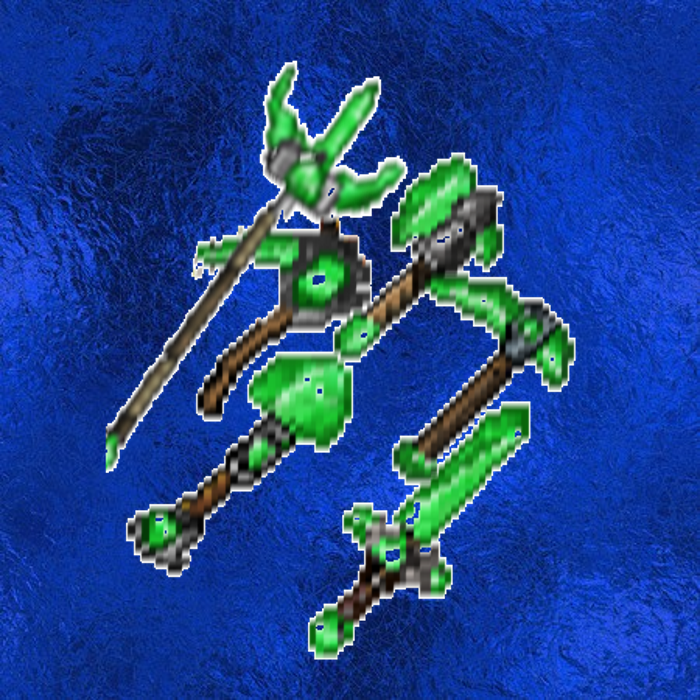 emerald weapons and tools