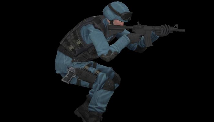 free 2d Swat soldier