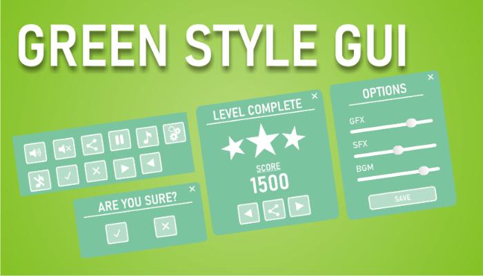 Green style GUI