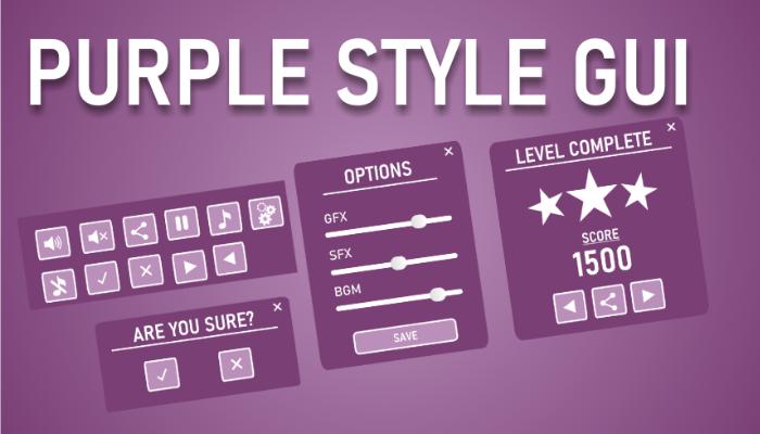 Purple style GUI