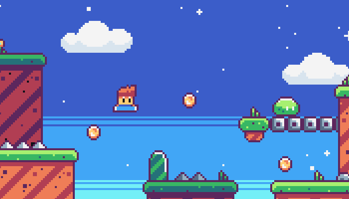 Cute Pixel Platform Pack