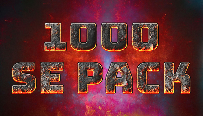 1000 Sound Effects Pack