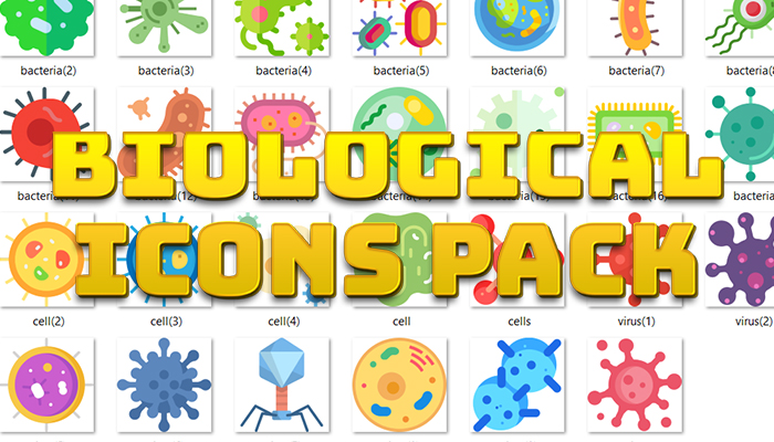 Biological Icons Pack