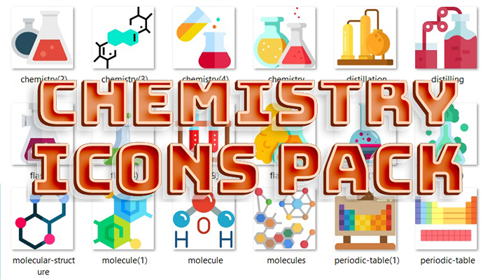 Chemistry Icons Pack