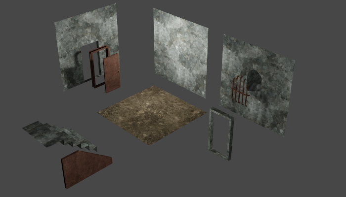 Abandoned Basement (Modular Building Tiles)